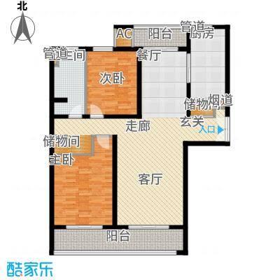 海上海新城124.79㎡上海(住宅)面积12479m户型