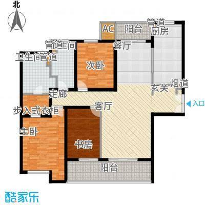 海上海新城148.80㎡面积14880m户型