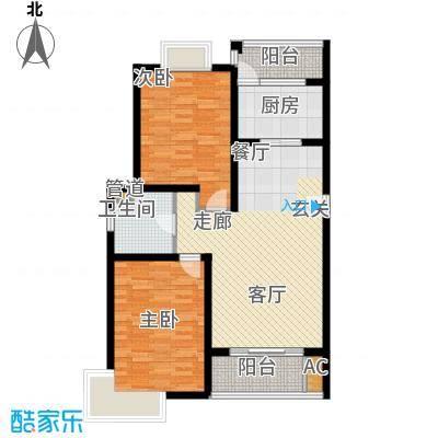 海上海新城91.00㎡面积9100m户型