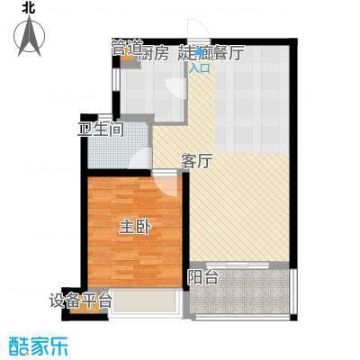 中冶祥腾城市佳园71.00㎡面积7100m户型