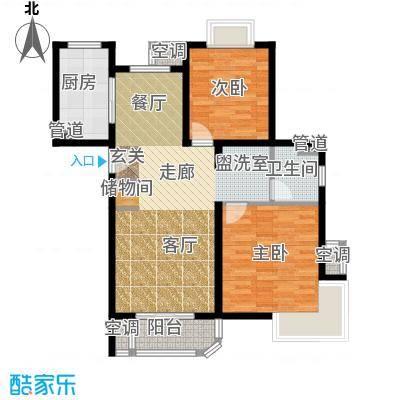 东方听潮豪园89.16㎡32、33、38面积8916m户型