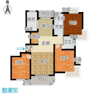 东方听潮豪园126.98㎡28、30、34面积12698m户型