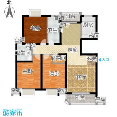 东方听潮豪园129.45㎡28、30、34面积12945m户型