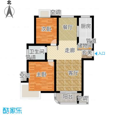 东方听潮豪园89.43㎡29、31、35面积8943m户型