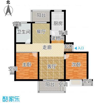 东方听潮豪园118.00㎡B31面积11800m户型