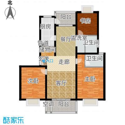 东方听潮豪园135.23㎡C7面积13523m户型