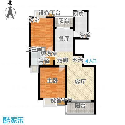 大华阳城七期阳城贵都95.57㎡B7面积9557m户型