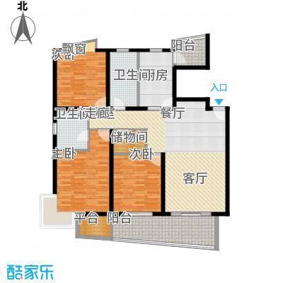 环龙新纪园140.00㎡面积14000m户型