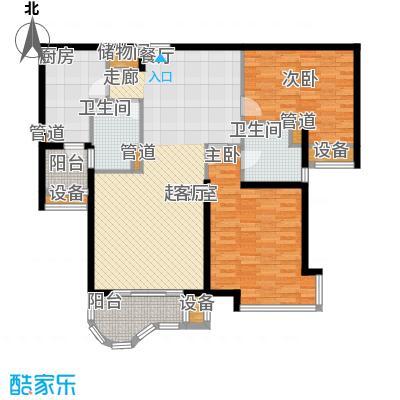 兆丰帝景苑114.00㎡面积11400m户型