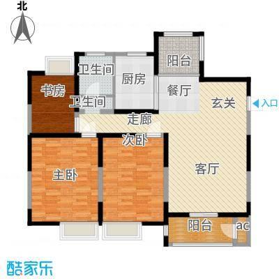 丽景翠庭113.04㎡g1型面积11304m户型
