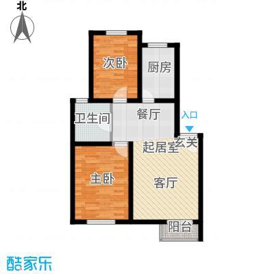丰舍东苑71.06㎡1面积7106m户型