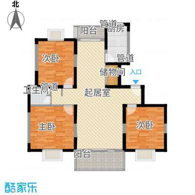 高行家园129.06㎡1面积12906m户型