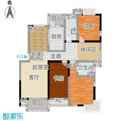枫庭丽苑147.00㎡面积14700m户型