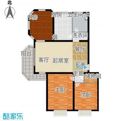 枫庭丽苑173.00㎡面积17300m户型