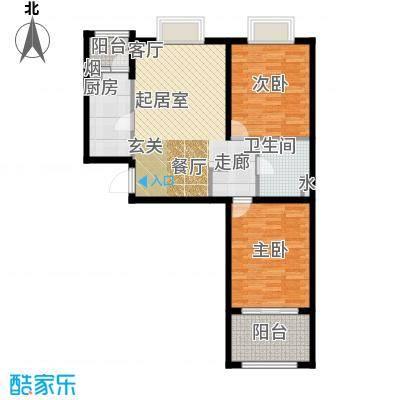 恒阳花苑海上花85.27㎡上海海上面积8527m户型