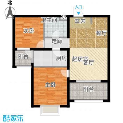 恒阳花苑海上花84.93㎡上海海上面积8493m户型