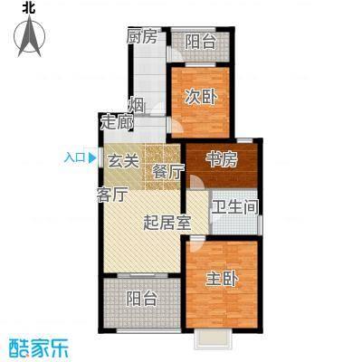 恒阳花苑海上花115.43㎡上海海上面积11543m户型