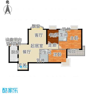 黄浦众鑫城159.00㎡面积15900m户型