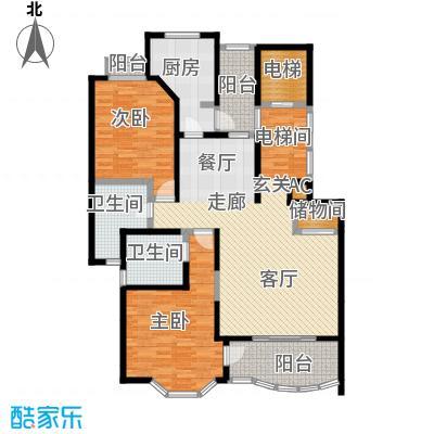 强生古北花园125.00㎡上海面积12500m户型