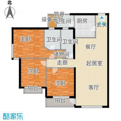 黄浦众鑫城147.00㎡面积14700m户型