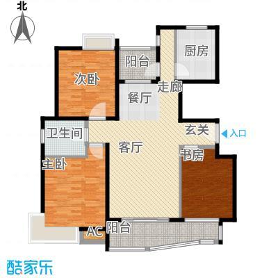 蔚蓝城市花园110.00㎡上海面积11000m户型