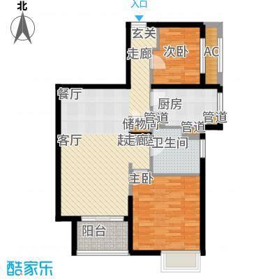 上海滩大宁城80.00㎡H2面积8000m户型