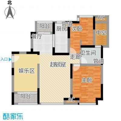上海滩大宁城95.00㎡19\20号0面积9500m户型