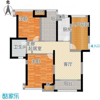 上海滩大宁城95.00㎡25/30/35号面积9500m户型