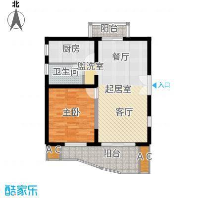 世博花园73.52㎡5号楼25号6-31标面积7352m户型