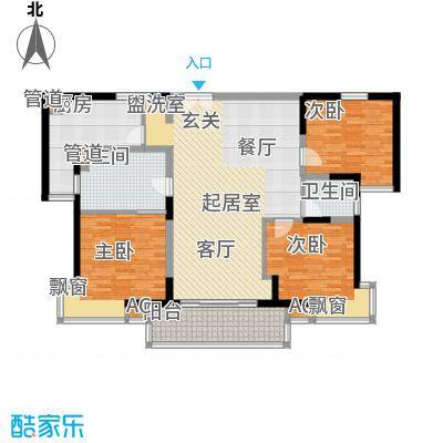 世博花园134.59㎡3号楼25号2面积13459m户型