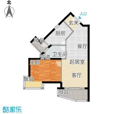 世博花园79.00㎡5号楼25号15-31面积7900m户型