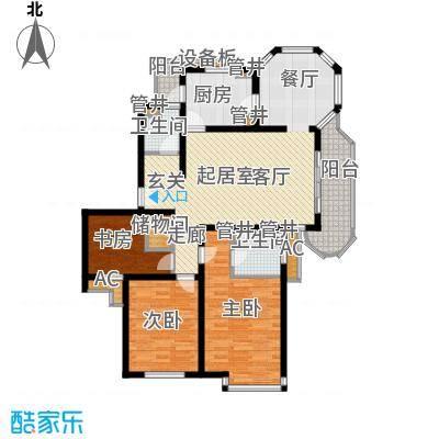 大华锦绣华城第19街区113.00㎡面积11300m户型