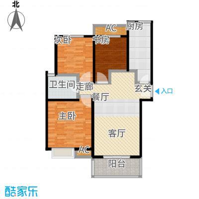 天山华庭98.00㎡上海面积9800m户型