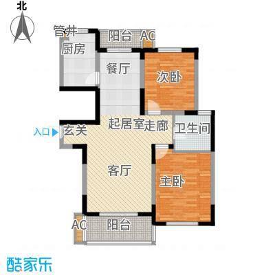 大华锦绣华城第19街区22户型