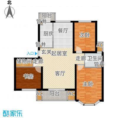 大华锦绣华城第19街区120.00㎡面积12000m户型