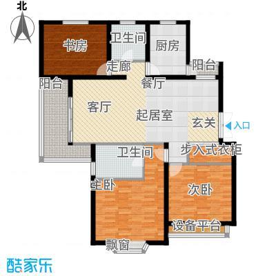 上海未来黄山新城128.22㎡上海未面积12822m户型