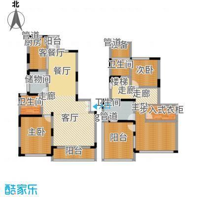 上海滩花园洋房200.00㎡裕龙花园面积20000m户型