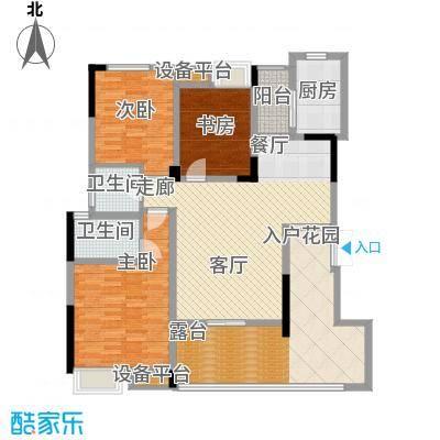 泽胜温泉城花园洋房7+1C户型