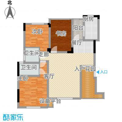 泽胜温泉城花园洋房7+1F户型