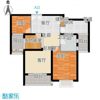 浦江智汇园88.00㎡E4面积8800m户型