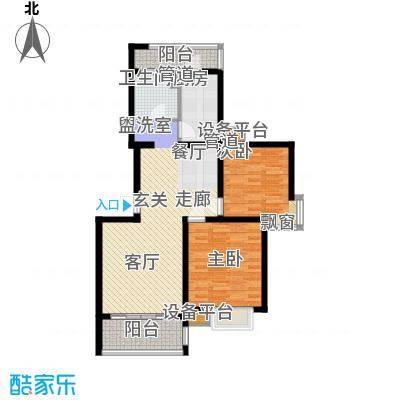 大华阳城七期阳城贵都96.28㎡面积9628m户型