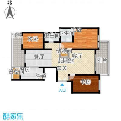 陆家嘴中央公寓上海户型