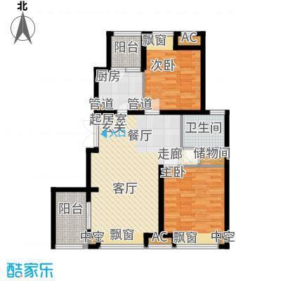新浦江城87.00㎡上海面积8700m户型