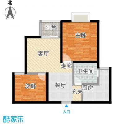 新梅淞南苑73.00㎡上海面积7300m户型