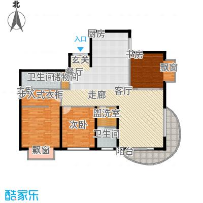 财富海景花园184.99㎡上海面积18499m户型