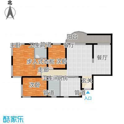 财富海景花园200.18㎡上海面积20018m户型