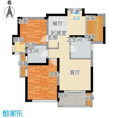 绿地香颂公寓户型
