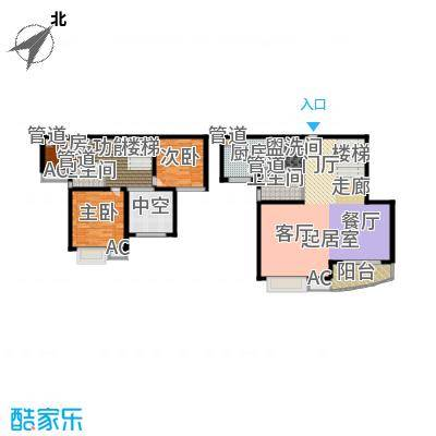 大华锦绣华城第16街区151.11㎡上面积15111m户型