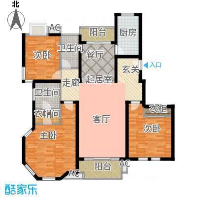 大华锦绣华城第16街区上户型