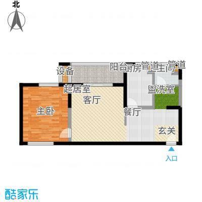 地杰国际城78.00㎡上海面积7800m户型